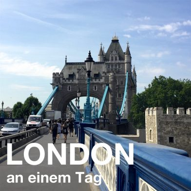London an einem Tag
