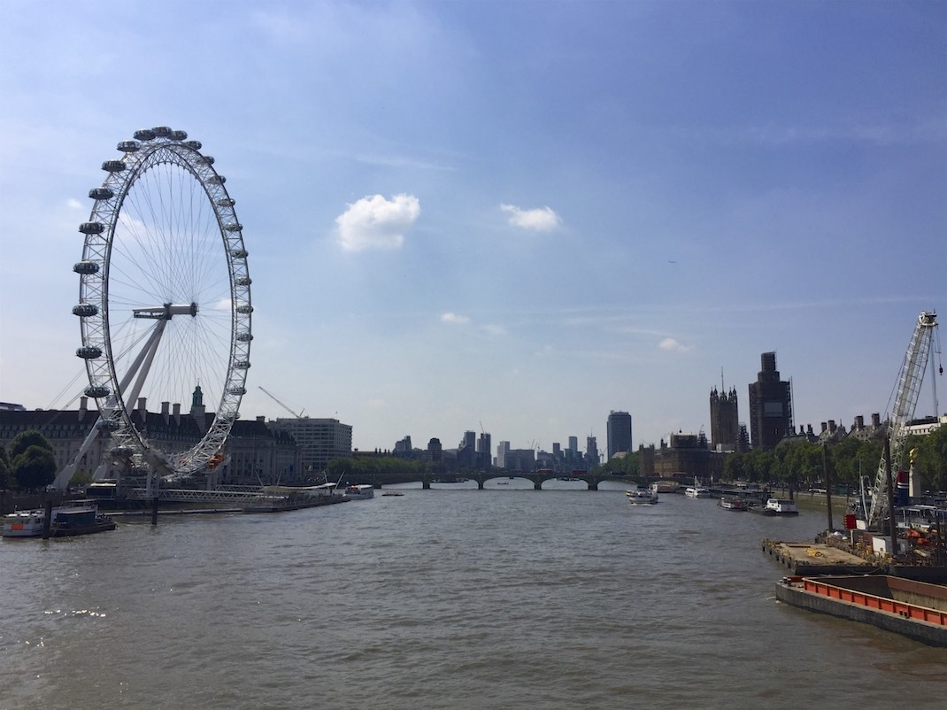 London Eye, Westminster Abbey und Big Ben