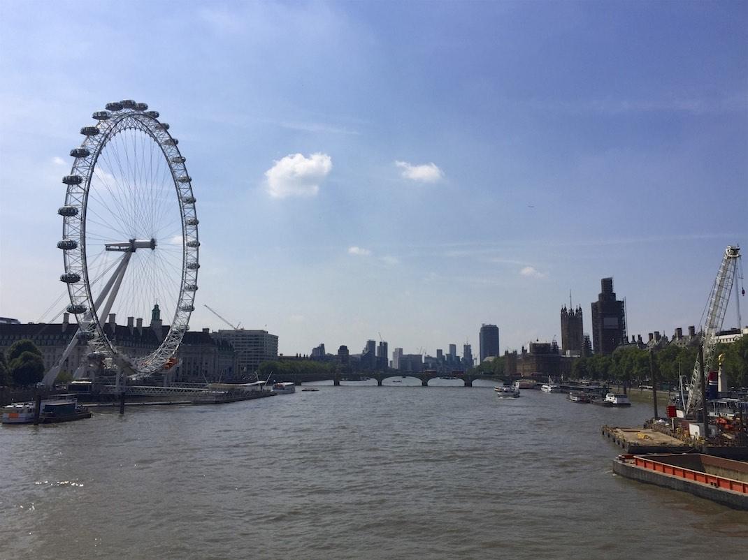 London Eye, Westminster Abbey und Big Ben